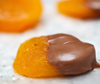 chocolate dipped apricot