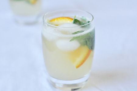 Pummelo Fruit Martini